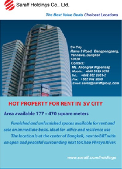 HOT PROPERTY FOR RENT AND SALE IN  SV CITY