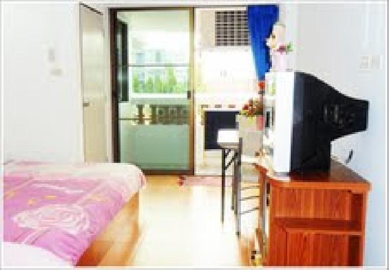 Sikker Luksus Lejlighed i det centrale Bangkok (Kun 4.900 baht / måned og 870 Bath / dag)