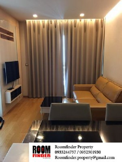 For Rent (สำหรับเช่า) The Address Asoke / 1 bed / 45 Sqm.**30,000** Fully Furnished. High