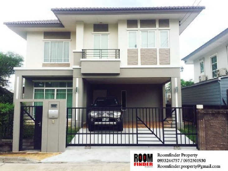 For Rent (สำหรับเช่า) The Plant Bangna / 3 beds 3 baths / 54 Sqw.**26,000** Fully Furnishe