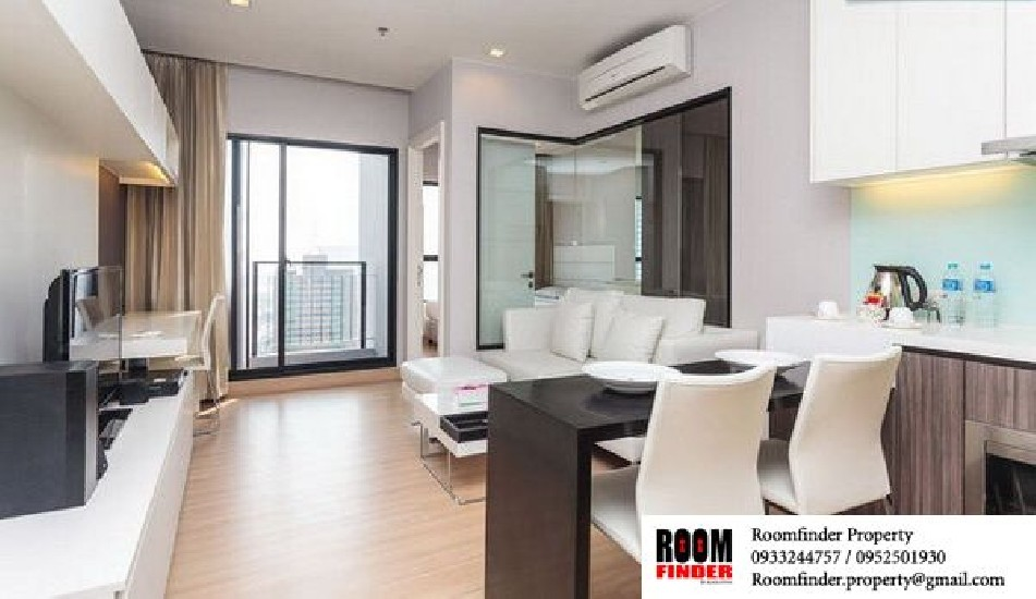 For Rent (สำหรับเช่า) Urbano Absolute Sathorn-Taksin / 1 bed / 38 Sqm.**25,000** High Floo