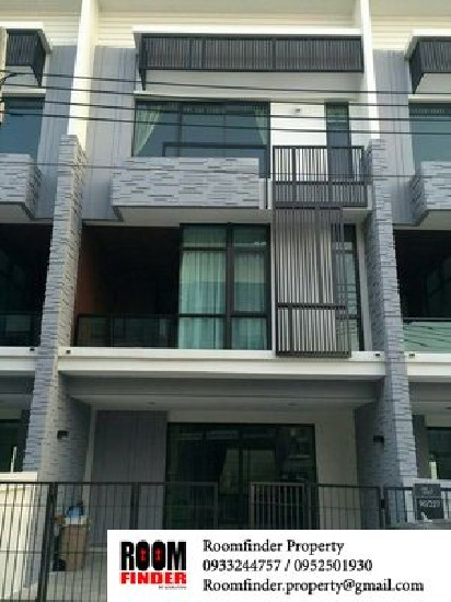 For Rent (สำหรับเช่า) Plex Bangna Km.5 / 3 beds 4 baths / 22 Sqw.**32,000** Unfurnished. W