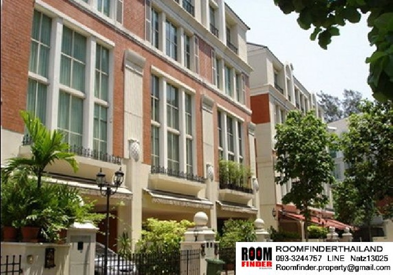 For Rent  Baan Klang Krung Thonglor  House Type : 4 Beds 6 Baths Size : 26 Sqw. (300 Sqm.)