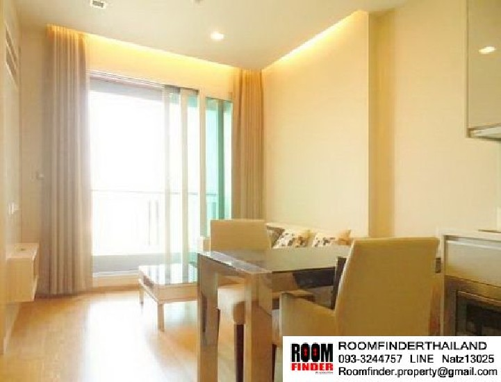FOR RENT (สำหรับเช่า) The Address Asoke / 1 bed / 36 Sqm.**24,000** Fully Furnished. High