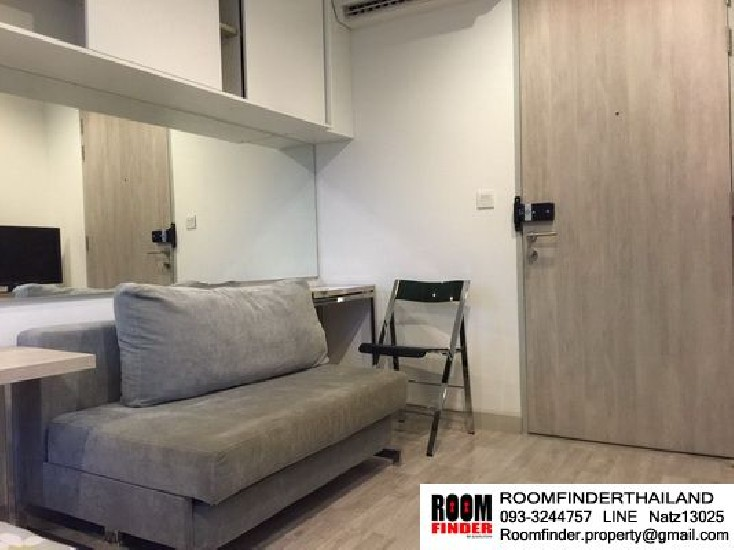 FOR RENT (สำหรับเช่า) Ideo Mobi Rama 9 / Studio / 21 Sqm.**14,000** Mid Floor. Fully Furni