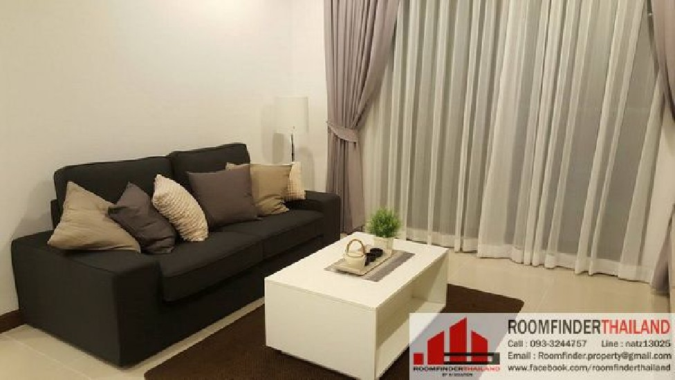 FOR RENT (สำหรับเช่า) Supalai Premier@Asoke / 2 beds 2 baths / 85 Sqm.**40,000** High Floo