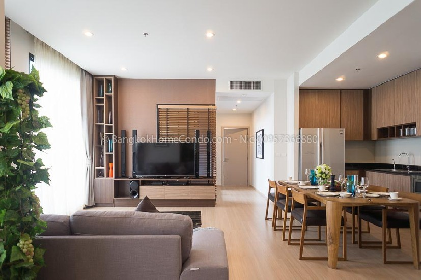 Condo For Rent The Capital Ekamai-Thonglor 4 Bed 130000 Baht