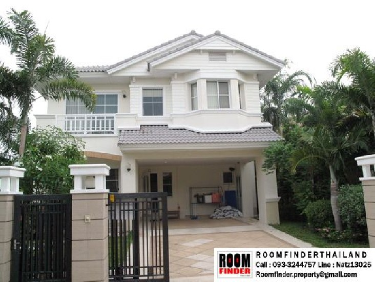 FOR RENT (สำหรับเช่า) Nantawan Suvarnabhumi / 3 beds 3 baths / 70 Sqw.**37,000** Fully Fur
