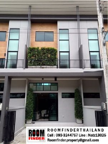 FOR RENT (สำหรับเช่า) Eco Space Bangna-Wongwaen Km.8 / 3 beds 3 baths / 22 Sqw.**30,000**