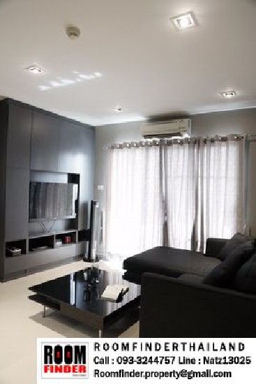 FOR RENT (����Ѻ���) Ivy Ratchada / 1 bed / 44 Sqm.**18,000** Fully Furnished. Modern Dec