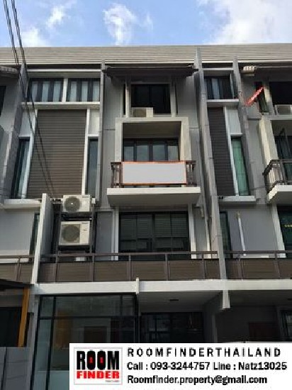 FOR RENT (สำหรับเช่า) Areeya Mandarina Sukhumvit 77**40,000** 4 Storey 6 Rooms 5 Baths / 2