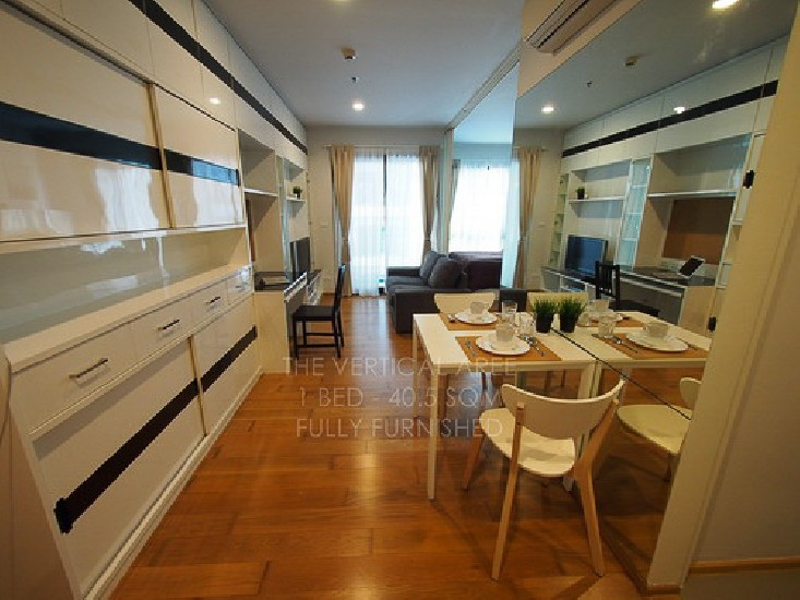 Condo For Rent The Vertical Aree by Sansiri Studio Bed 21000 Baht