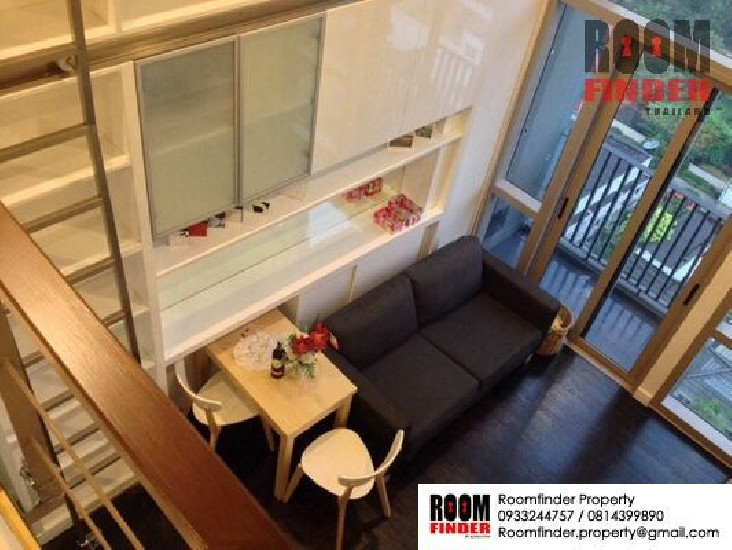 FOR RENT (สำหรับเช่า) IDEO MORPH SUKHUMVIT 38 / 1 bed Duplex / 36 Sqm.**27,000** Fully Fur