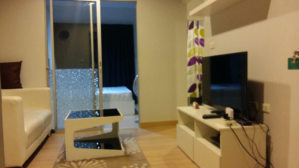 ให้เช่า Condo The kith 1ห้องนอน 28 ตรม. ตึก A5 ชั้น6 ราคา 6,500 บาท เฟอร์ เครื่องใช้ไฟฟ้า