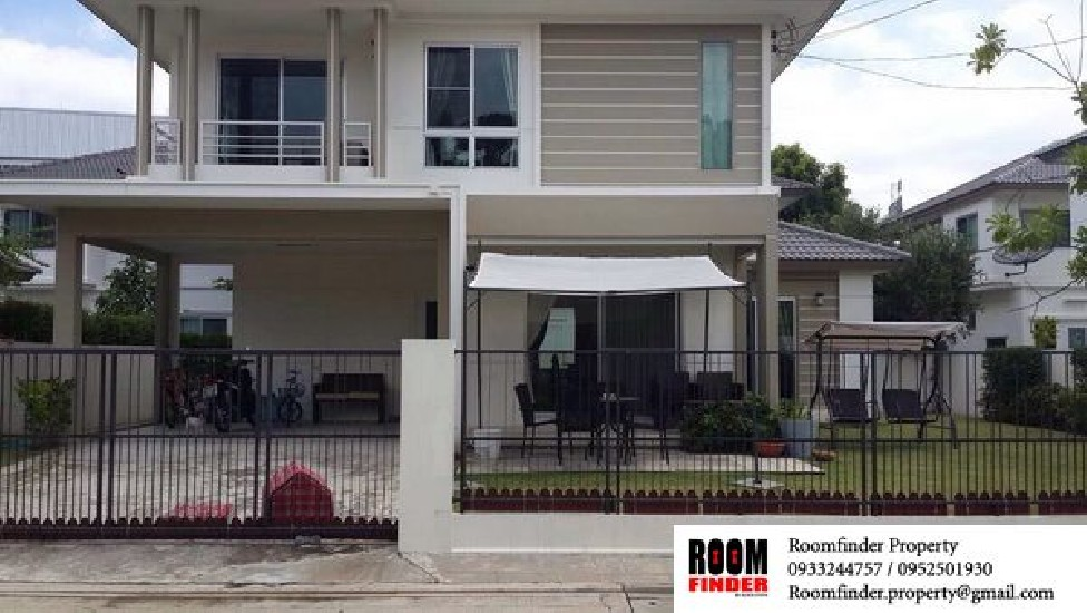 FOR RENT (สำหรับเช่า) Sivalee Bangna Km.13 / 3 beds 3 baths / 70 Sqw.**42,000** Fully Furn