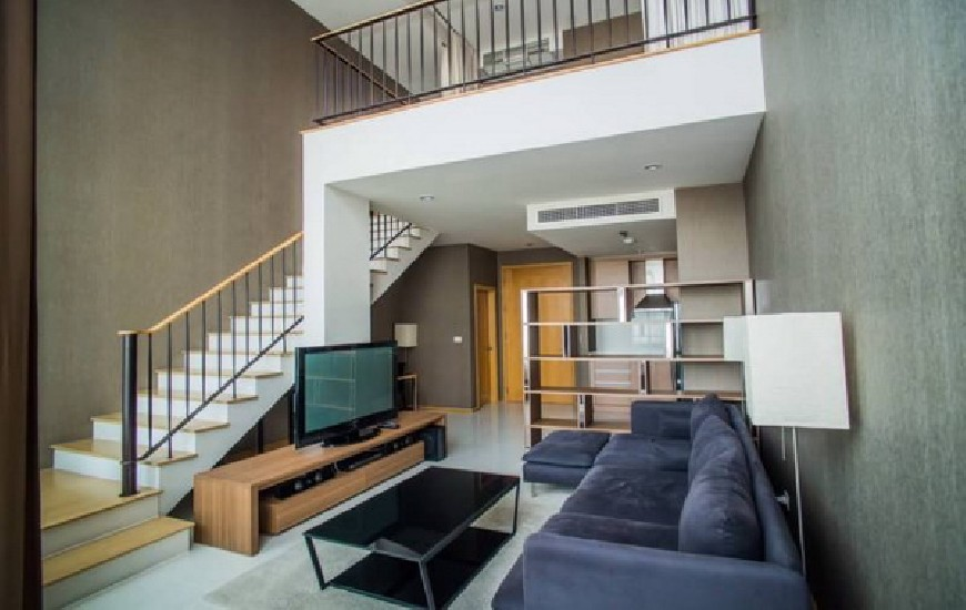 FOR RENT (สำหรับเช่า) The Emporio Place Sukhumvit 24 / 1 bed Duplex / 75 Sqm.**55,000** Am