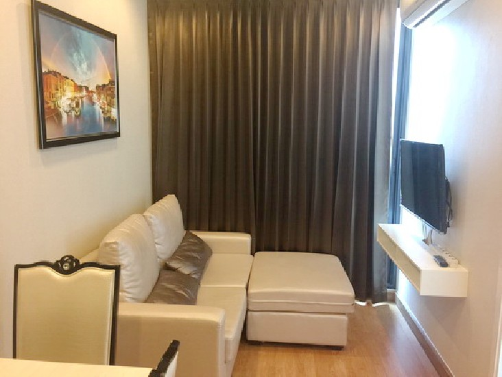 FOR RENT (เช่า) Q House Sukhumvit 79 / 1 bed / 31 Sqm.**20,000** Fully Furnished. High Flo