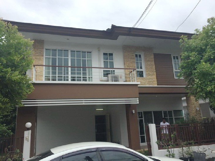 (เช่า) FOR RENT GREEN GARDEN BANGNA KM.8 / 3 beds 3 baths / 60 Sqw.**42,000** Fully Furnis