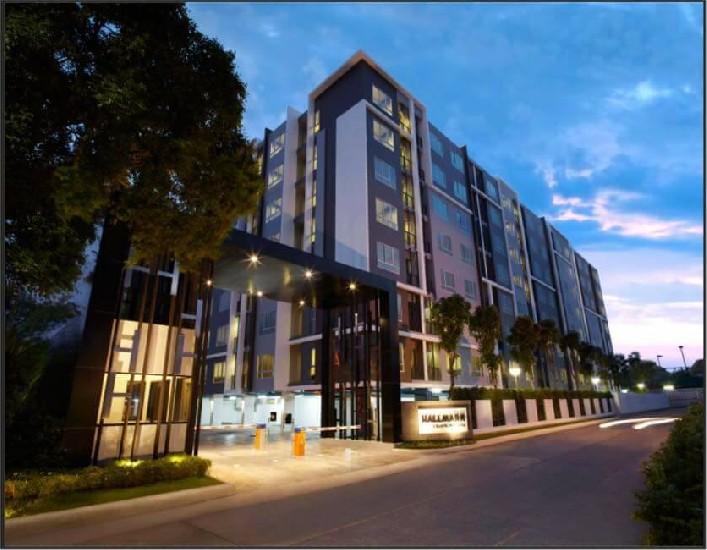 คอนโดฮอลล์มาร์ค-แจ้งวัฒนะ ห้องใหญ่ 33 ตรม. ห้องใหม่แต่งสวย ตึกA ชัน7 ให้เช่า 11,000/เดือน