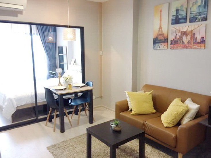 (เช่า) FOR RENT IDEO S115 / 1 bed / 34 Sqm.**12,000** NEW CONDO. Fully Furnished. Pool Vie