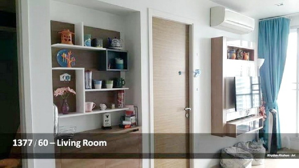 (เช่า) FOR RENT RHYTHM PHAHON-ARI / 1 bed / 45 Sqm.**25,000** Nice Decorated. Fully Furnis