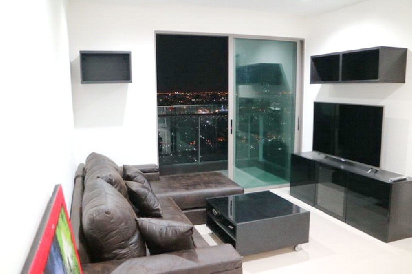 (เช่า) FOR RENT STARVIEW RAMA 3 / 2 beds 2 baths / 77 Sqm.**35,000** High Floor. Nice Deco