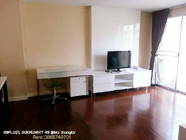 Rent 49 PLUS 1, SUKHUMVIT 49, 3bedrooms, 2bathrooms, 104swm.,6th floor