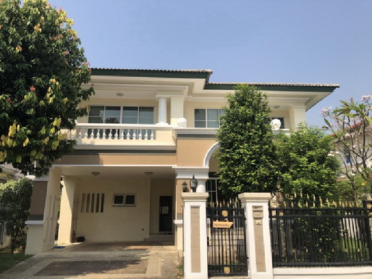 (เช่า) FOR RENT LADAWAN SRINAKARIN / 3 beds 3 baths / 80 Sqw.**55,000** Fully Furnished. G