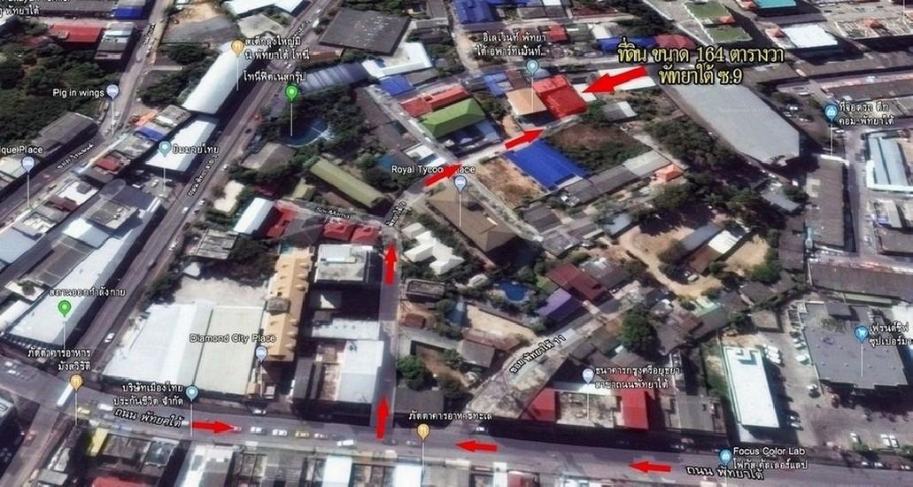 ที่ดินติด164 ตารางวา ถนนในซอย พัทยาใต้ ซ.9 พร้อมห้องพัก 13 ห้อง เข้าซอย เพียง 100 เมตร