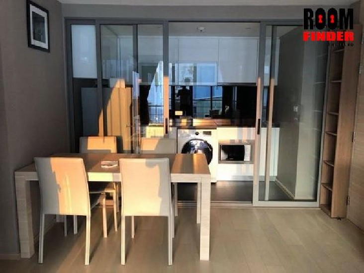 (เช่า) FOR RENT KLASS SILOM / 2 beds 2 baths / 55 Sqm.**40,000** Fully Furnished. GREAT LO