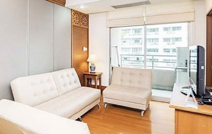 (เช่า) FOR RENT GRAND LANGSUAN / 2 beds 2 baths / 100 Sqm.**55,000** Fully Furnished. High