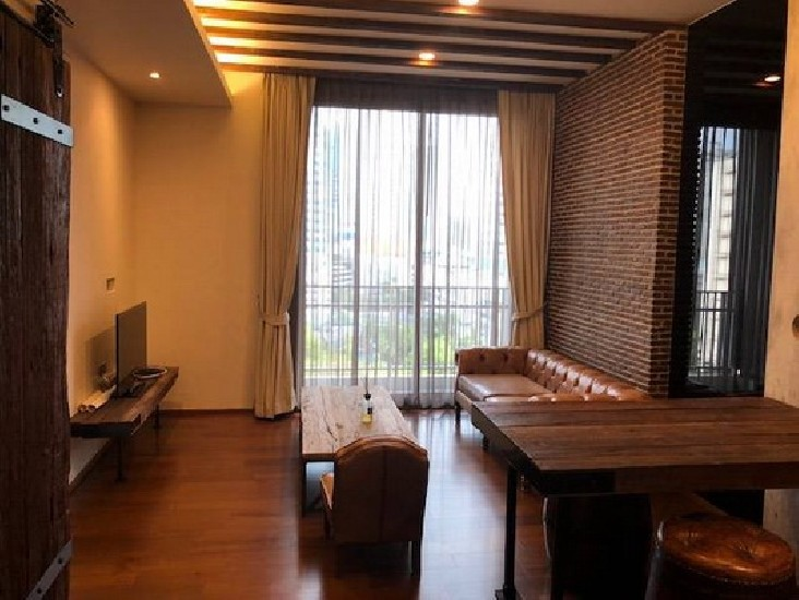 (เช่า) FOR RENT QUATTRO BY SANSIRI / 1 bed / 50 Sqm.**45,000** Modern Loft Decorated. Full
