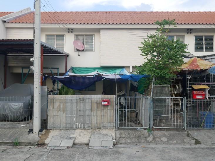 ขายบ้านเอื้ออาทร ธัญบุรี คลอง9 เนื้อที่ 16.6 ตรว.