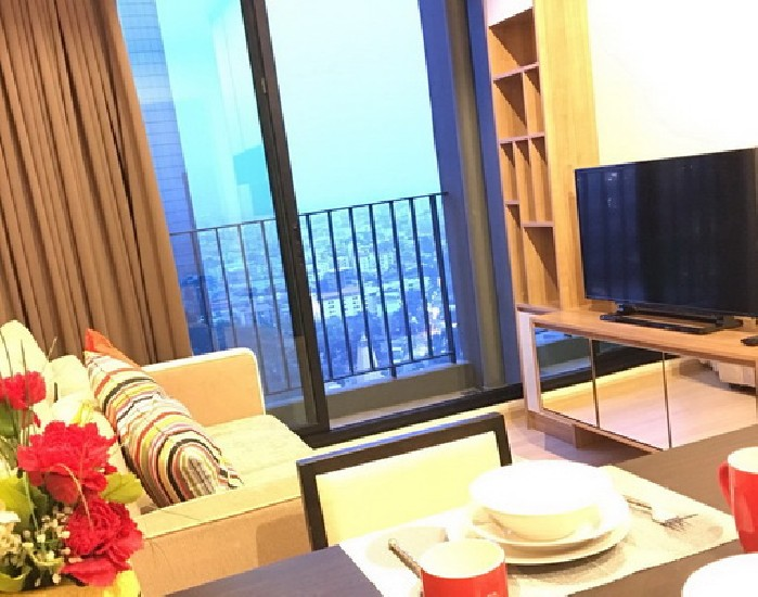 (เช่า) FOR RENT THE CAPITAL EKAMAI-THONGLOR / 1 bed / 35 Sqm.**20,000** Fully Furnished. H