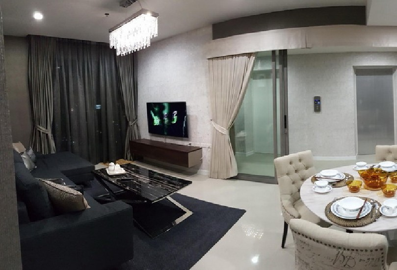 (เช่า) FOR RENT STARVIEW RAMA 3 / 2 beds 2 baths / 77 Sqm.**45,000** High Floor. Modern De