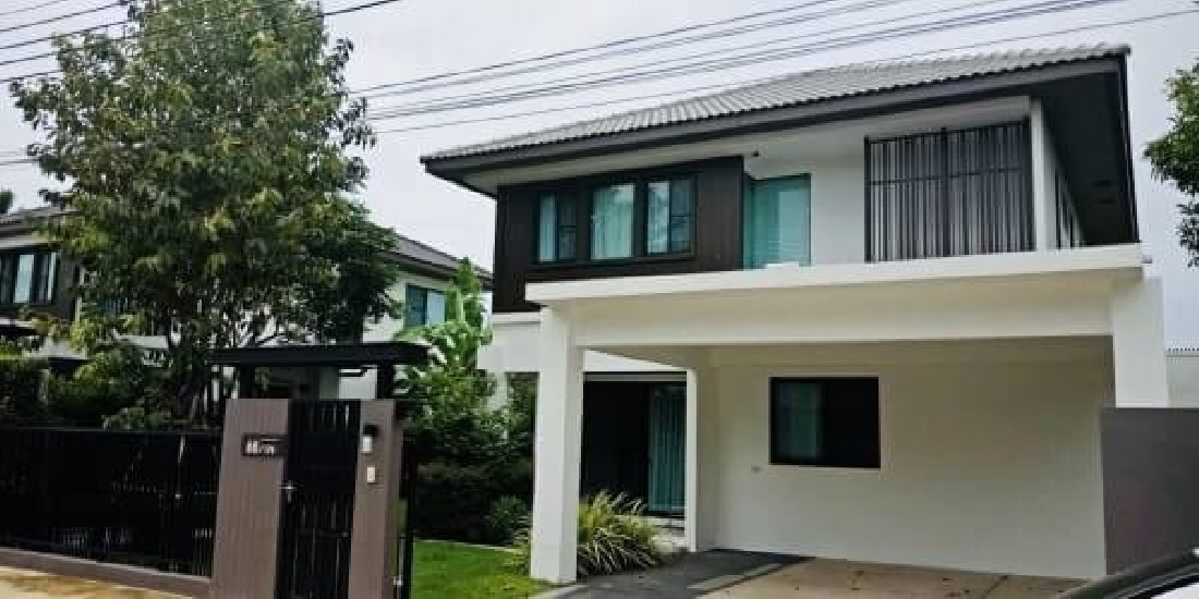 (เช่า) FOR RENT MANTANA BANGNA KM.7 / 4 beds 3 baths / 70 Sqw.**75,000** Fully Furnished.
