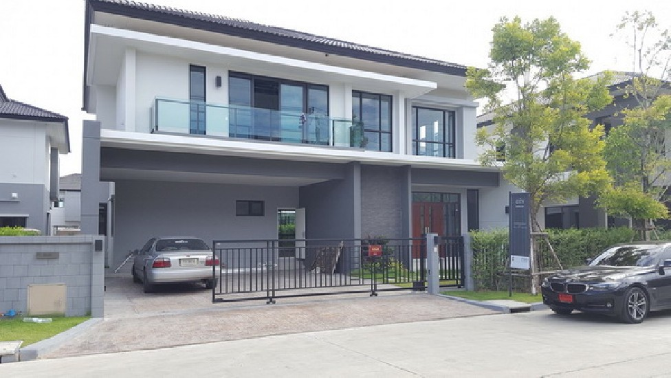 (เช่า) FOR RENT BRAND NEW HOUSE BANGNA KM.7 / 4 beds 4 baths / 90 Sqw.**95,000** Fully Fur