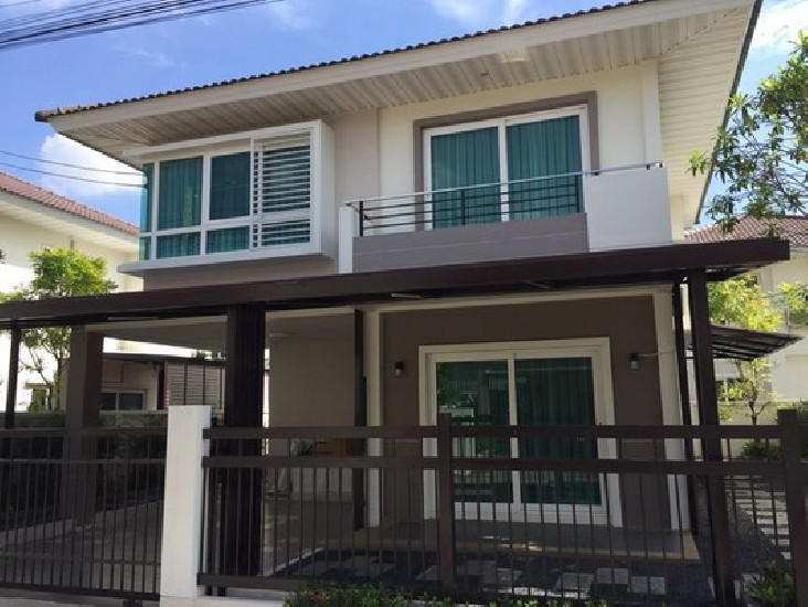 (เช่า) FOR RENT SUPALAI GARDEN VILLE LADKRABANG / 3 beds 3 baths / 54 Sqw.**32,000** Fully