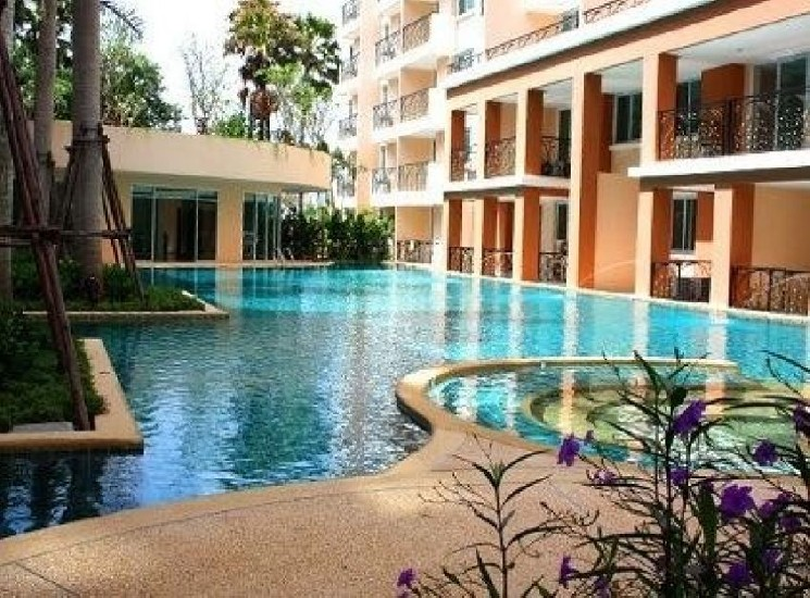Paradise Park fully furnished pool view