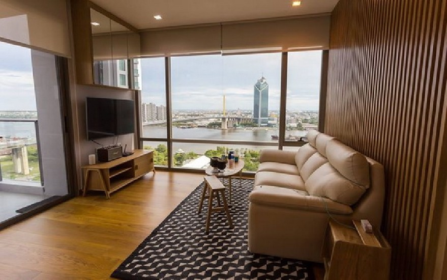 (เช่า) FOR RENT STARVIEW RAMA 3 / 2 beds 2 baths / 83 Sqm.**50,000** Corner Room. RIVER VI