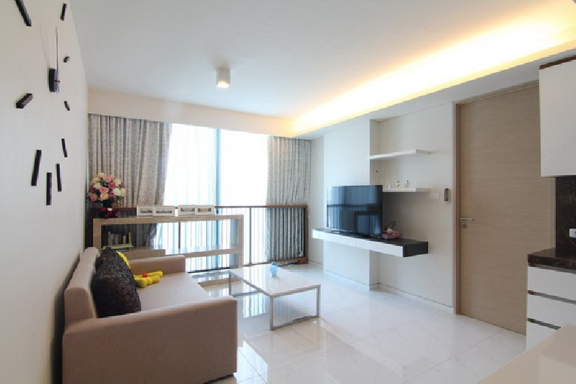 (เช่า) FOR RENT SIAMESE 39 / 2 beds 2 baths / 68 Sqm.**40,000** Fully Furnished. Modern de