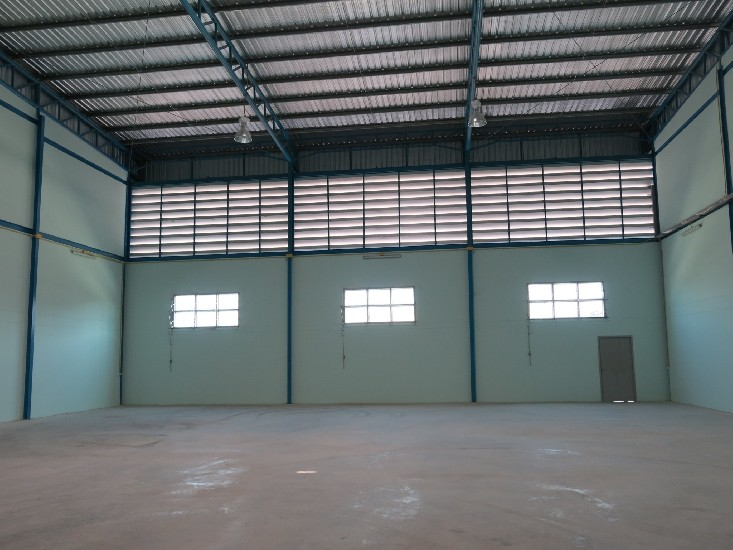 For Rent Modern Newly built 3 Warehouses with Office Bangna-Trad K.M. 16.5 road  - Newly b