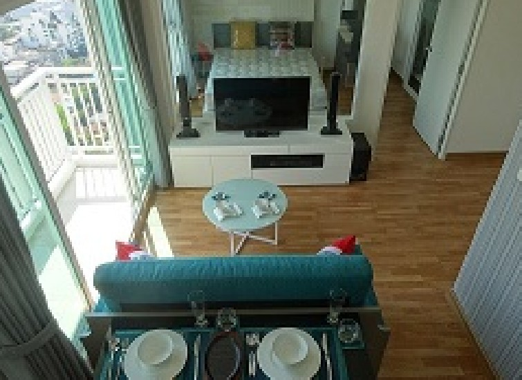The Parkland Grand Asoke-Phetchaburi 35sqm 1-1BR Top Floor