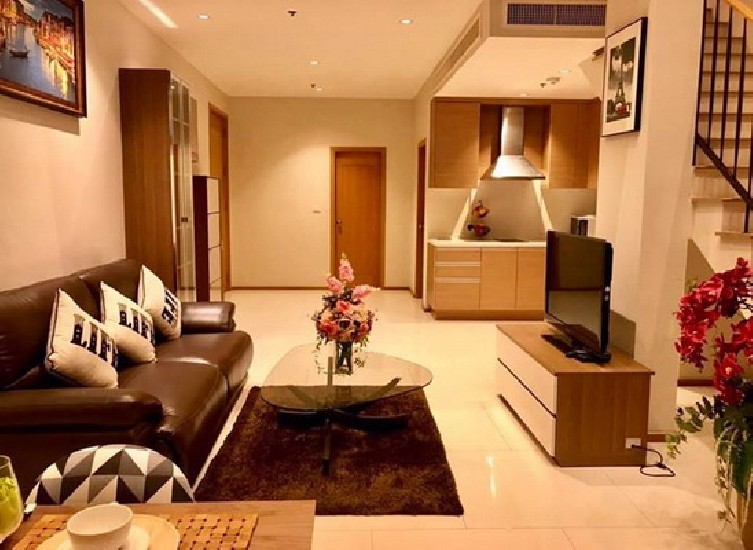 (เช่า) FOR RENT THE EMPORIO PLACE SUKHUMVIT 24 / 1 bed 2 baths Duplex / 85 Sqm.**55,000**