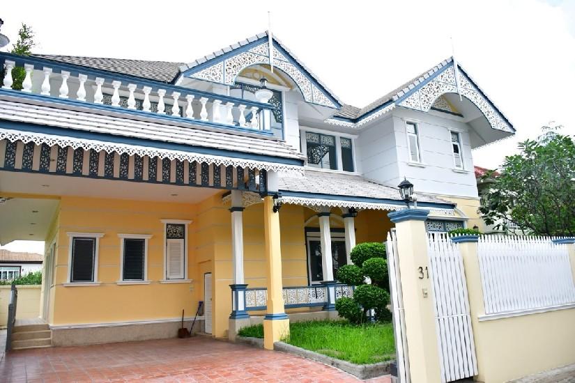 ขายบ้านเดี่ยวสร้างใหม่ทรงไทยประยุกต์ 15 ล้าน 94 ตร.วา ซ.ลาดพร้าว 71,เลียบด่วนรามอินทรา