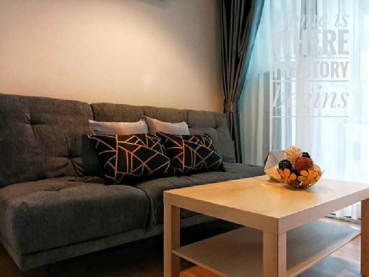 (เช่า) FOR RENT CHATEAU IN TOWN RATCHADA 19 / 1 bed / 31 Sqm.**15,000** NEW RENOVATED.