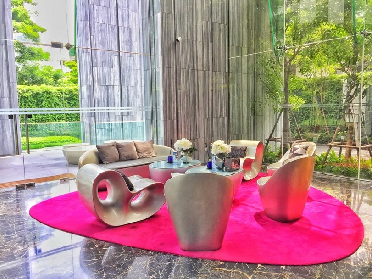 EDGE Suk 23 1 Bedroom Fully Furnished Near BTS Asoke For rent