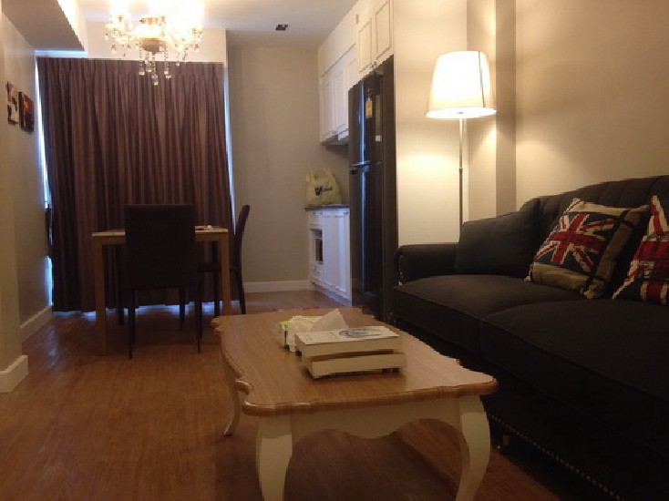 (เช่า) FOR RENT MAISON GARDEN CONDO / 2 beds 1 bath / 45 Sqm.**15,000** Fully Furnished.