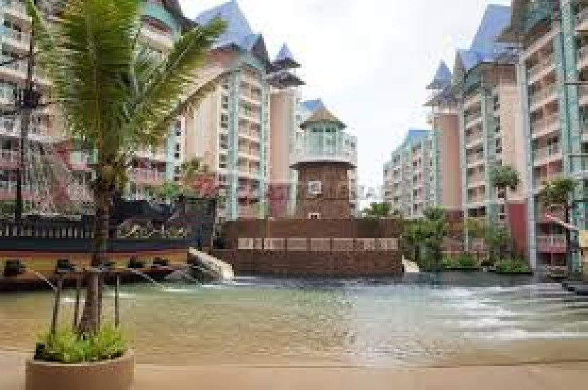 FOR RENT !! Grande Caribbean Condo Resort Pattaya -37 sq.m.  1 Bed Room, Full Furnish-10,0