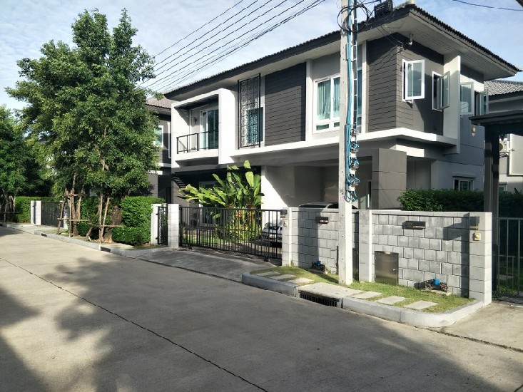 ขายบ้านเดี่ยว 2 ชั้น ม. The City Bangyai เนื้อที่ 53 ตรว. 4 ห้องนอน 3 ห้องน้ำ บ้านสวย ทำเล